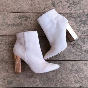 Charlotte Russe Ankle Boots Size 9